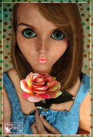 Rose Doll by pixie-stix-art