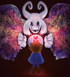 some undertale doodle by Wolfcakex3