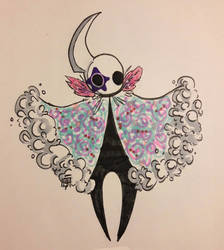 (SOLD) Another Hollow Knight OC by Wolfcakex3