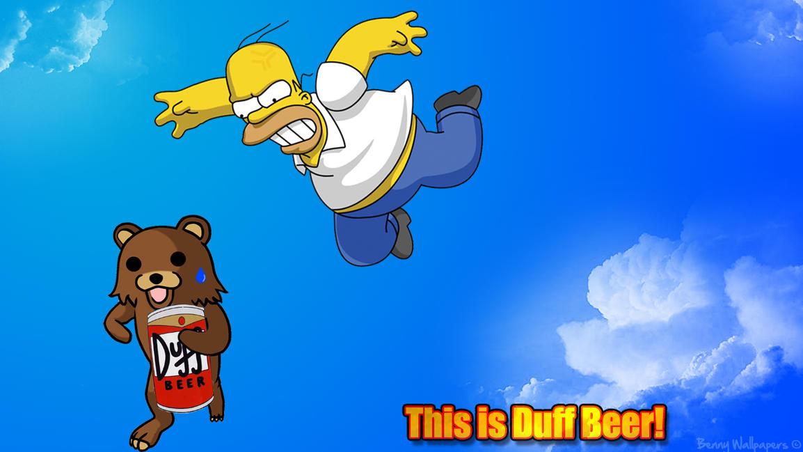 Homer Simpson Bear