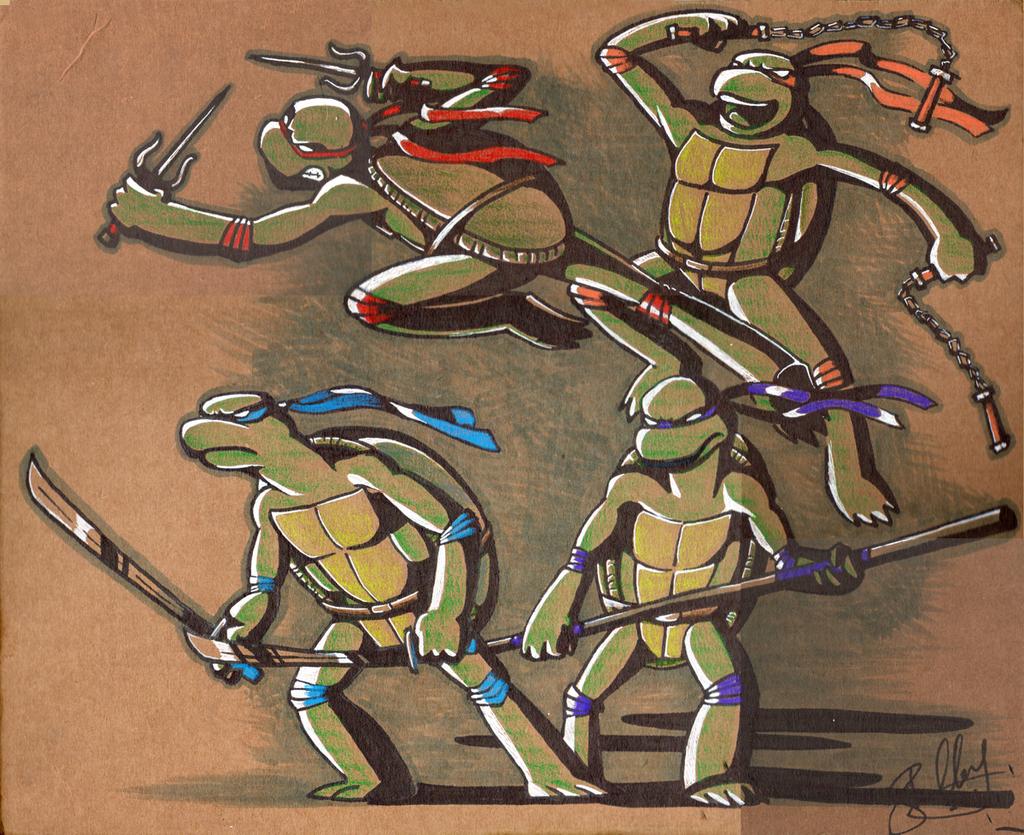 i like turtles. by shelzie