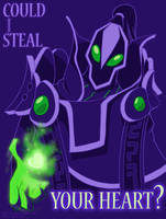DOTA 2 Valentines - Rubick by swift-whippet