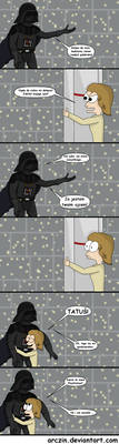 Luke i Vader by ArcziN