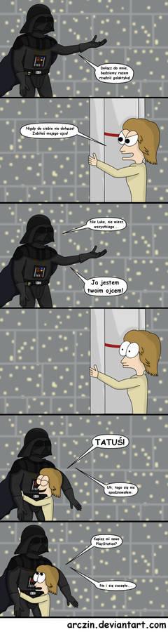 Luke i Vader