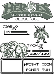 Heroes of the Storm - oldschool by ArcziN