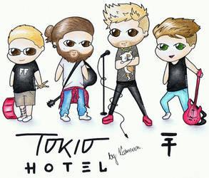 Tokio Hotel by KAMSOON