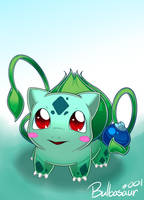 Berry Bulbasaur by CrankyConstruct