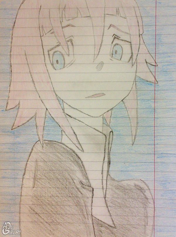 Chrona Sketch by AzuGirl89