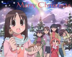 Azumanga Christmas 2006 by AzuGirl89