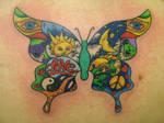 hippie butterfly