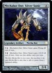 Silver Sonic MtG Card
