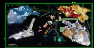 Eli Shane and the Elementals. Mastering Slug-Fu by Tom-Masons-admirer