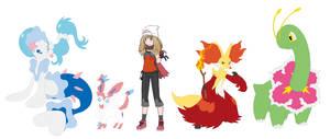 Pokemon Super - Serena Gabena