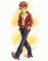 Kid Flash by rockinrobin