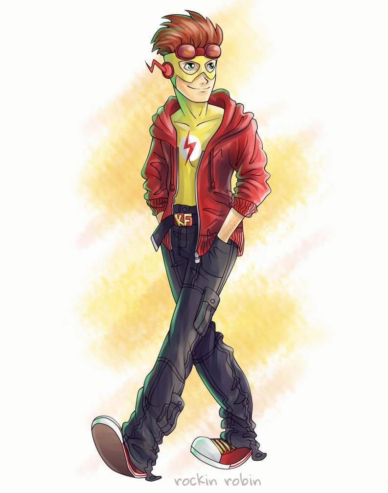 Kid Flash by rockinrobin