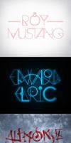 Fullmetal Alchemist Typography