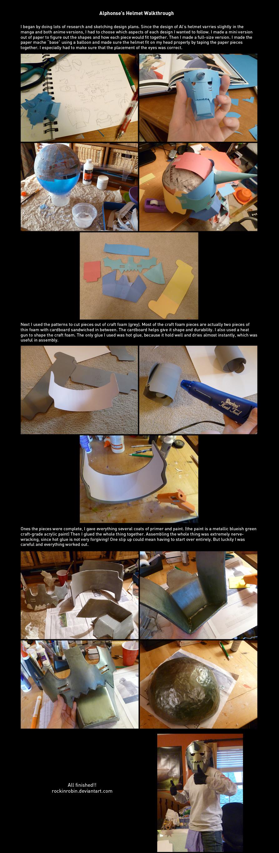 Alphonse Cosplay Process by rockinrobin