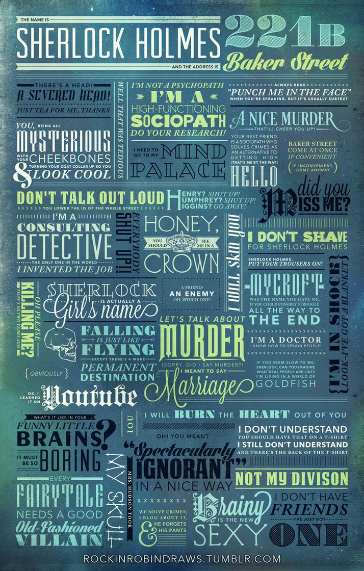 The Name is Sherlock Holmes... by rockinrobin