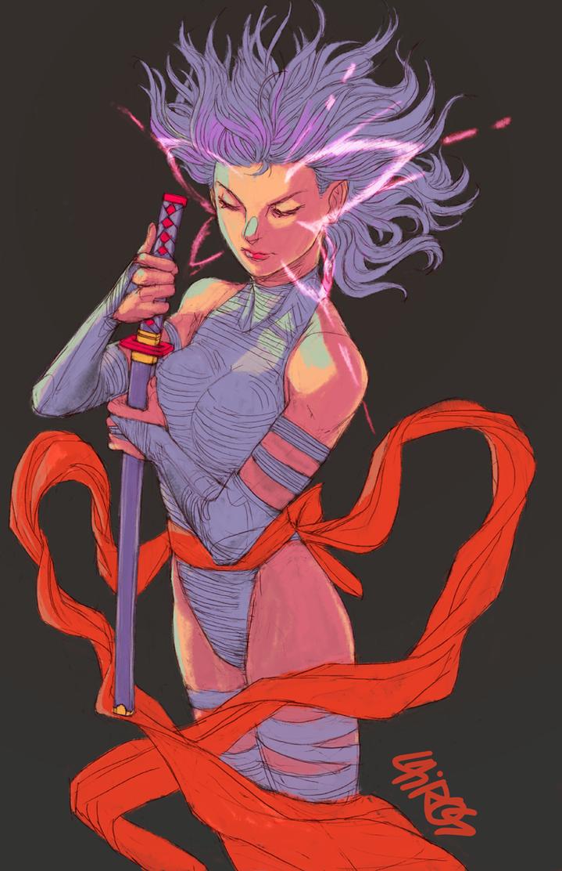 Psylocke! by Cairos