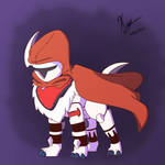 Wolf the Absol (Comission)