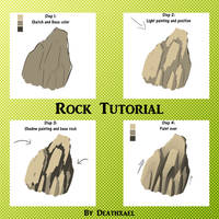 Rock painting tutorial by Xael-The-Artist