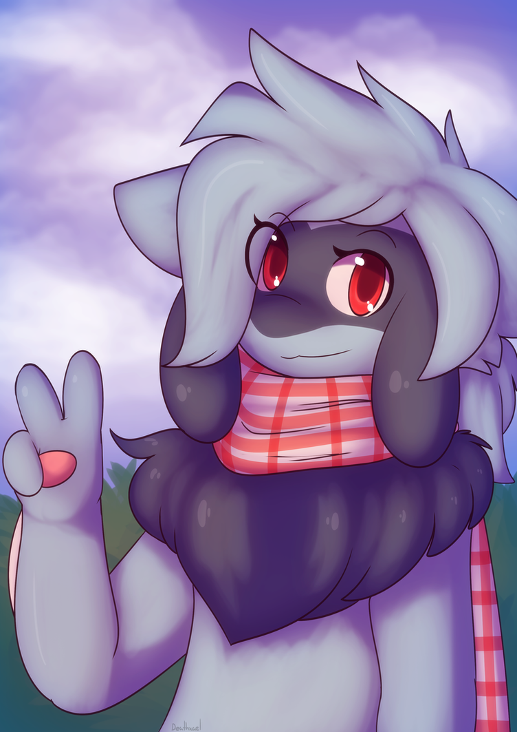 Ayaka the Riolu by Xael-The-Artist