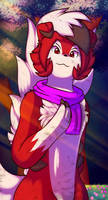 Erika the Lycanroc by Xael-The-Artist