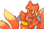 Buizel hug