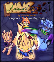 Aezae's Tales Chapter 5 Cover by Xael-The-Artist