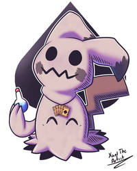 Quentin the Mimikyu by Xael-The-Artist