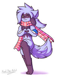 Ayaka the Riolu 2019 by Xael-The-Artist