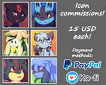 Icon commissions! [OPEN]