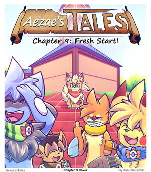 Aezae's Tales Chapter 9 Cover