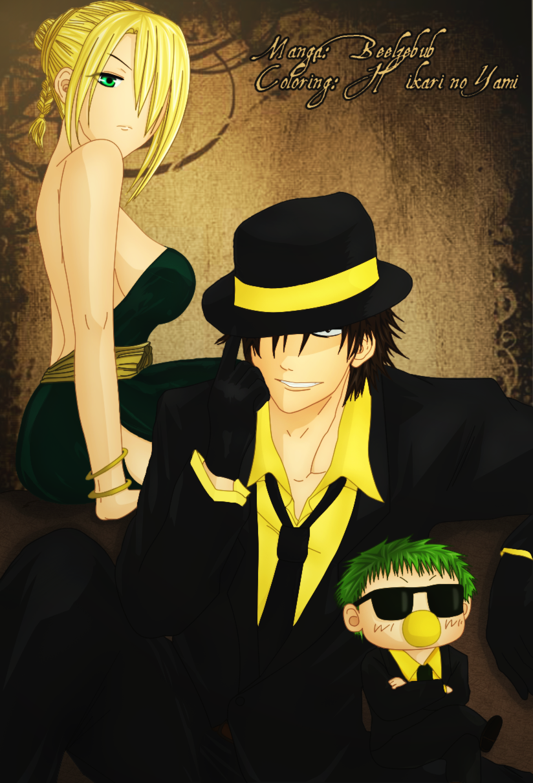 Beelzebub: cosplay Reborn by Hikari--no--Yami