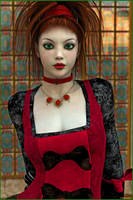 The Scottish Hand Maiden by akulla3D