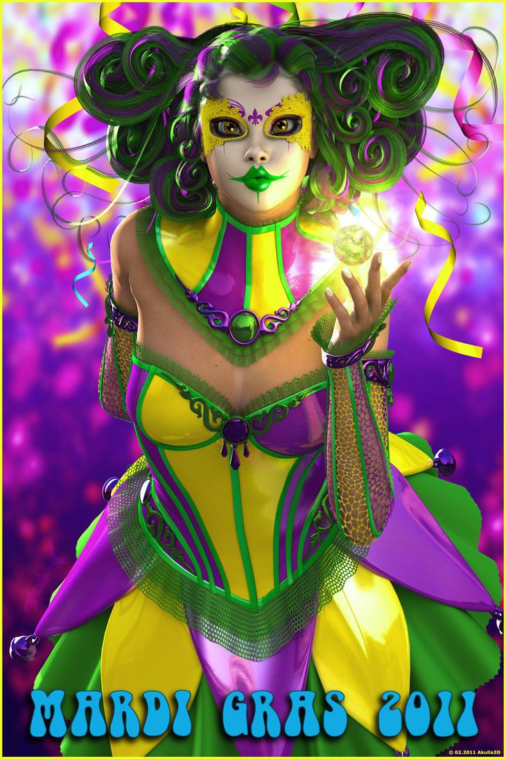 Mardi Gras 2011 by akulla3D