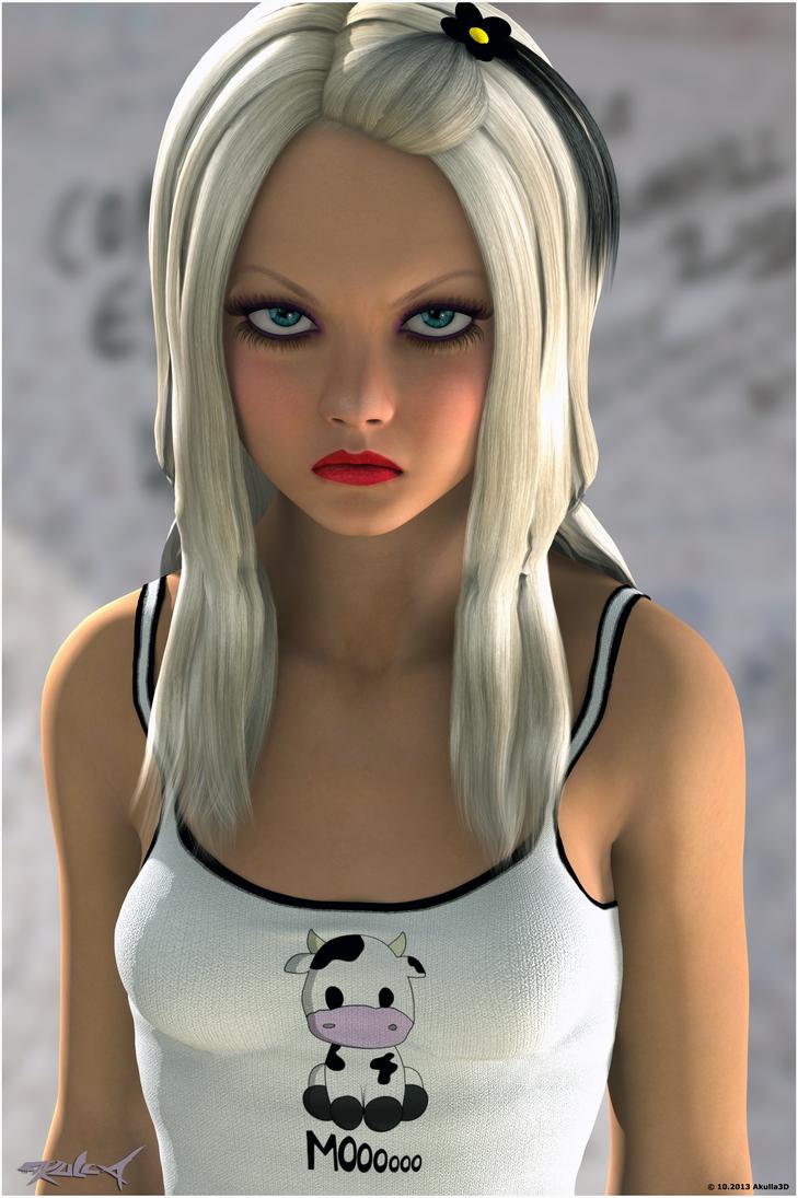 Mean Gurler by akulla3D