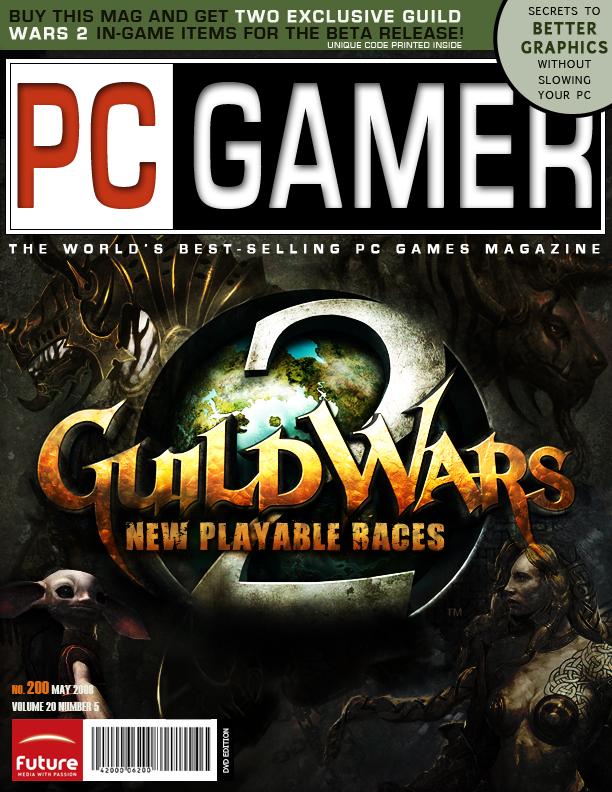 PC Gamer Magazine Cover by mirako-hikaru on DeviantArt