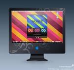 iMac - Rayure Wallpaper Pack