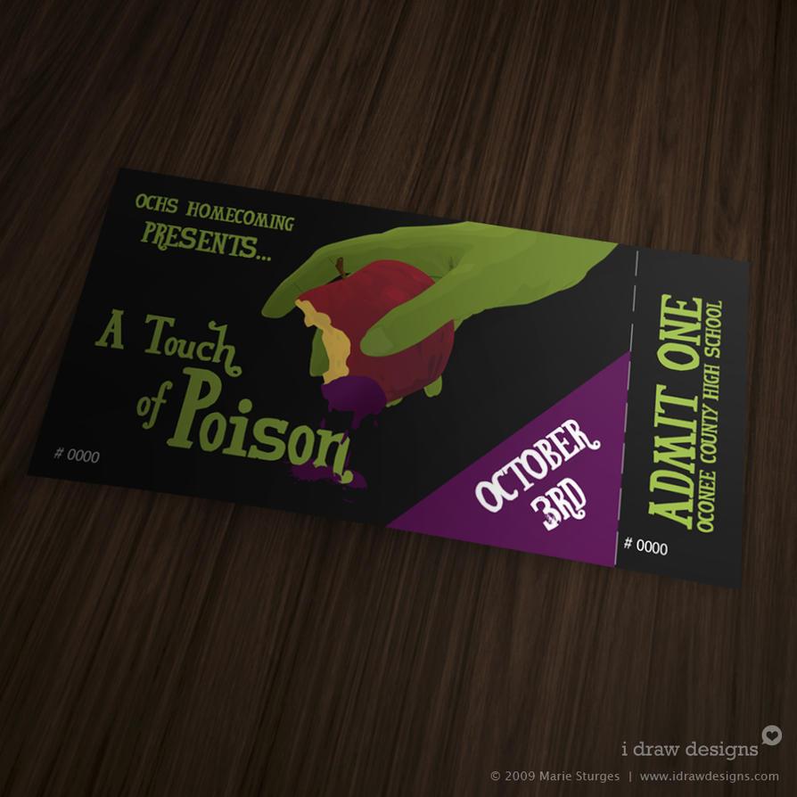 OCHS Homecoming Tickets 2009 by mirako-hikaru