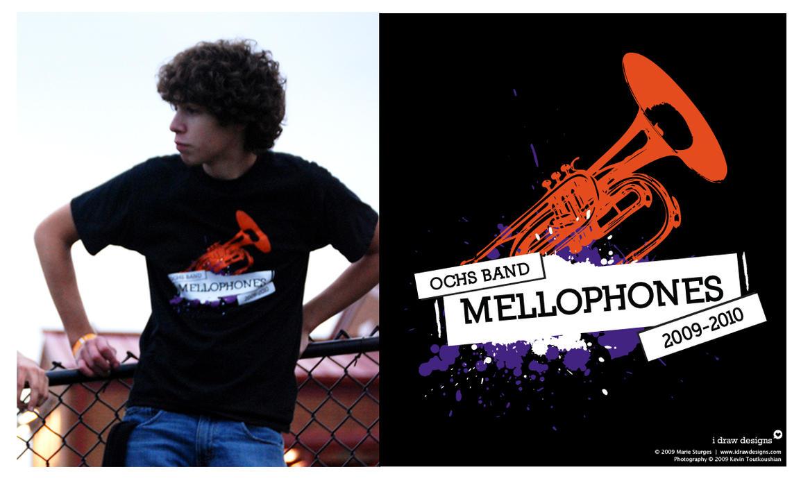 OCHS Mellophones 2009 - Shirt by mirako-hikaru