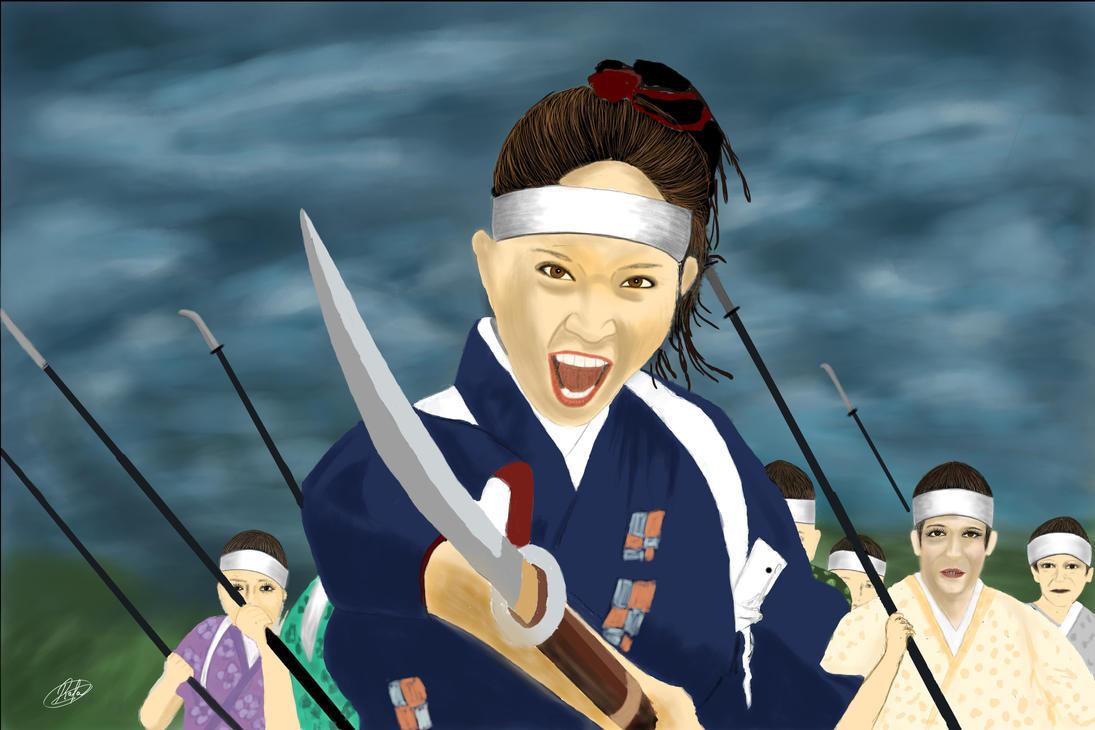 Takeko Nakano by katubeltz