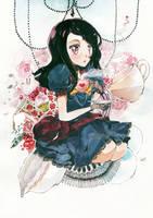 ART TRADE:Miss Alice by Tenshini
