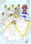 Masquerade Senshi- Cosmos/ ChibiChibi