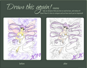Draw This Again! Queen Serenity