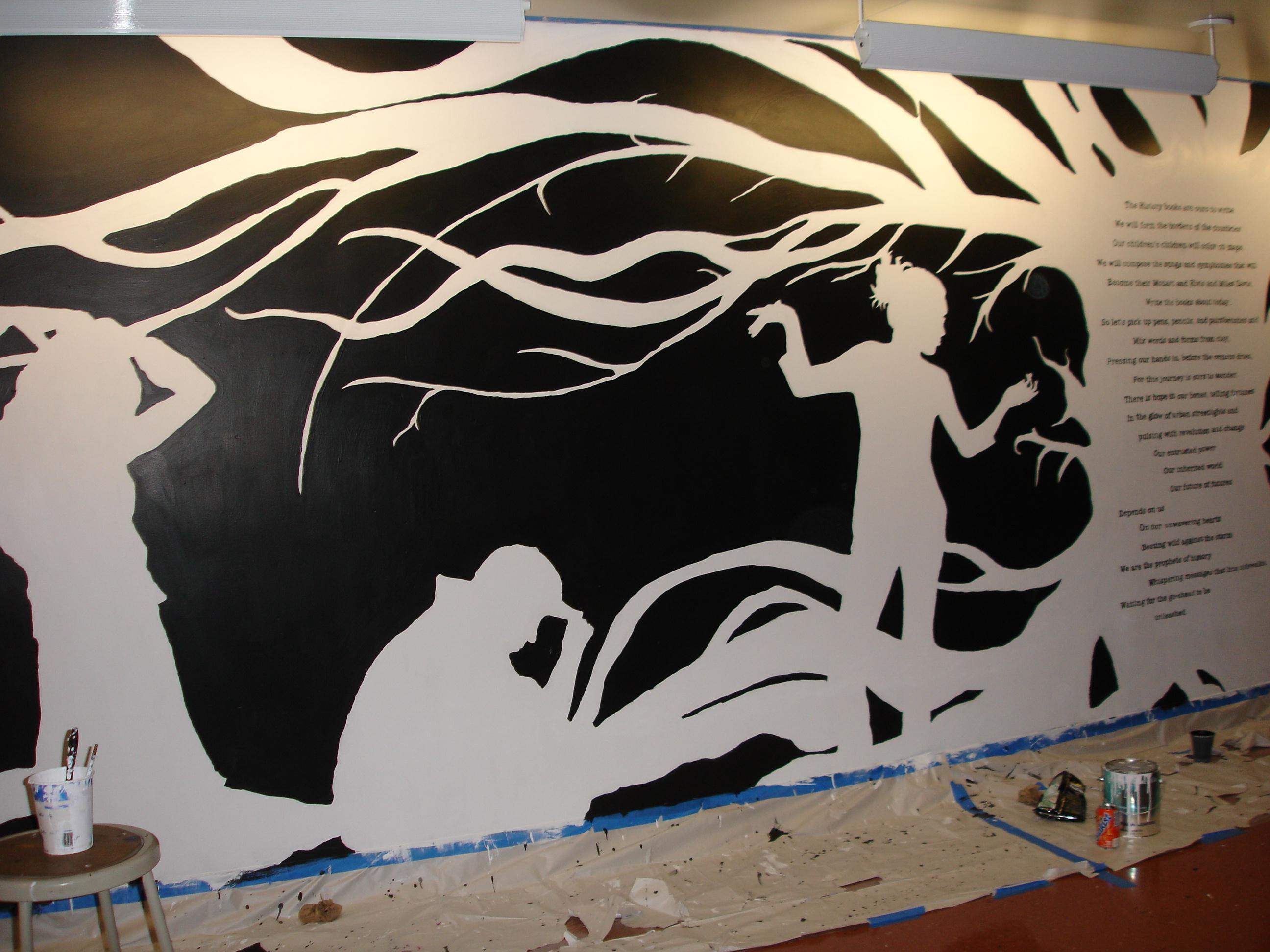 Exodus - DSA mural IV by fae