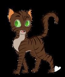 Faithheart (Warrior Cats character OC design) by CatGirl236