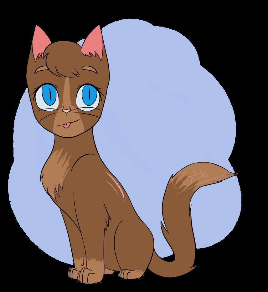 Tealstar (Warrior Cats character OC design) by CatGirl236