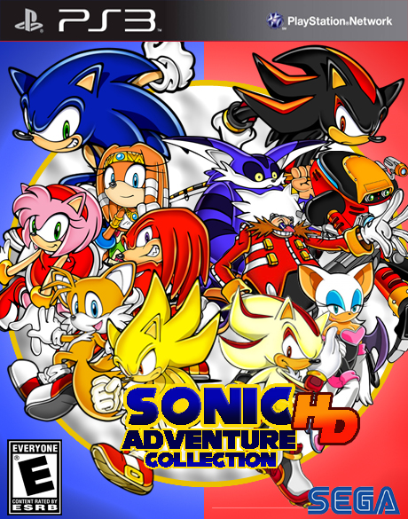Sonic Games For Ps3 : Sonic adventure hd collection ps by ruialkyder on deviantart