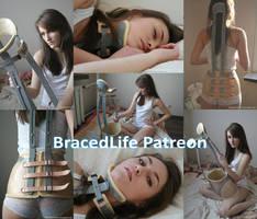 Christy in Kuehnegger Brace now on  Patreon by MedicBrace